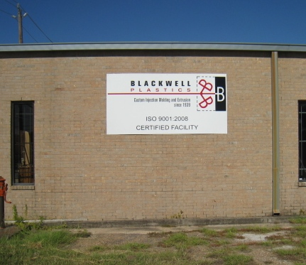 Blackwell Plastics is ISO Certified